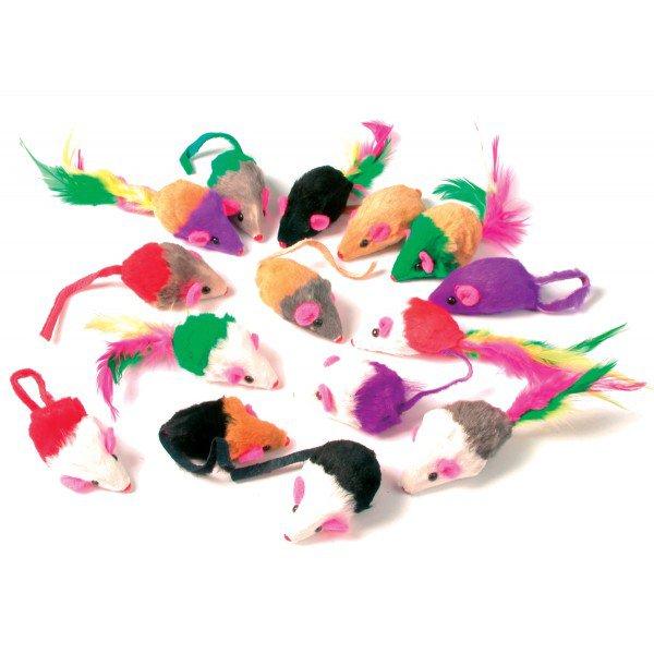 ZOLUX MYSZKA z grzechotką dla kota zabawka Zabawki