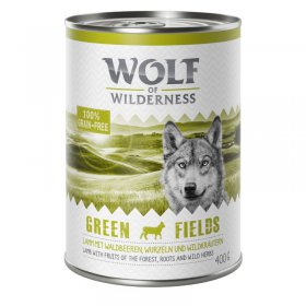 Wolf of Wilderness | Adult | Puszka 400g