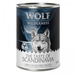Wolf of Wilderness | The Taste Of | Puszka 400g